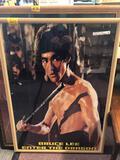 Bruce Lee framed poster Enter the Dragon