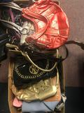 2 boxes of purses