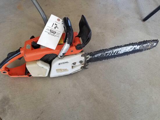 Stihl 031AV chainsaw