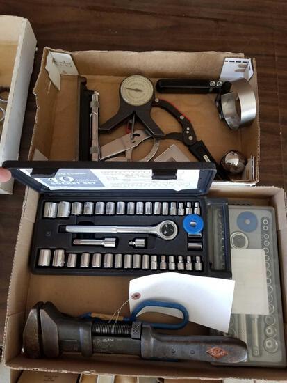Socket sets, tools