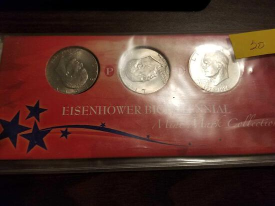 Eisenhower mint mark collection