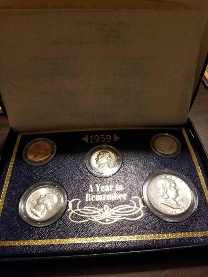 1959 A Year To Remember silver mint set