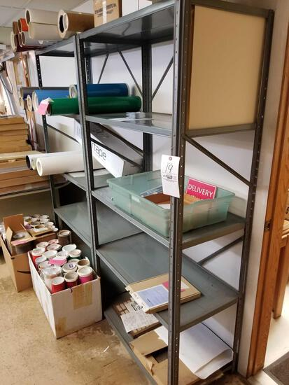2 metal shelves, bid x 2