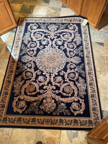 Karastan Royal Court machine made wool rug, 5.2 x 7.10