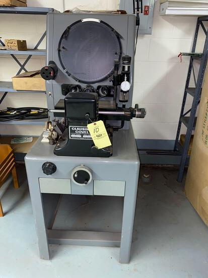 Clausing Covel mod 4301 Optical Comparator