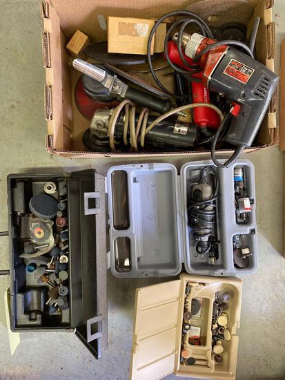 Dremel - bits - drill - grinder - air grinder