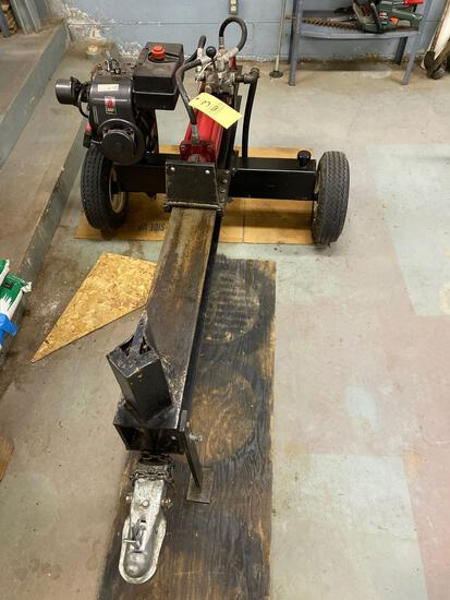 Gas log splitter with Tecumseh Engine