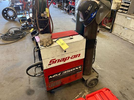 MM 350 XL Muscle Mig Welding System