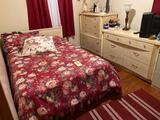 4 Pc Blonde Bedroom Suite w/Double Bed