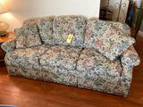 3-Cushion Floral Sofa