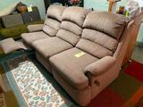 Brown Sofa with Reclining ends