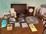 Wedding albums -picture frames- clock etc