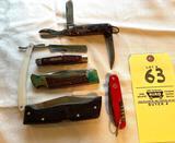 Pocket knives lot