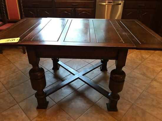 Dark oak drop lief kit table