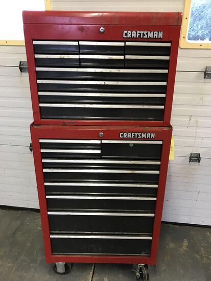 Craftsman stack model tool box