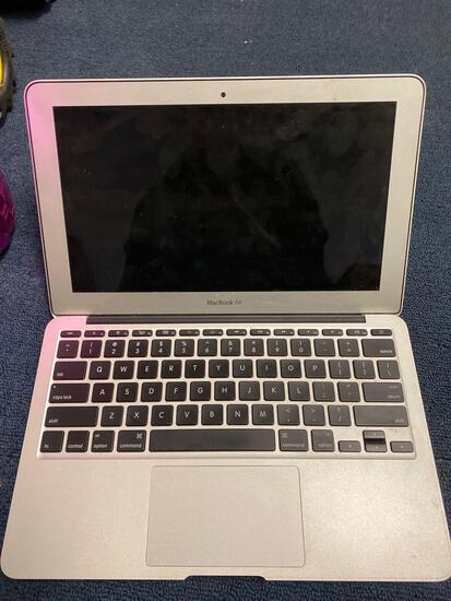 MacBook Air not sure if working, old phones, iPods, case, beats not sure if working, Samsung tablet