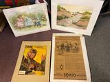 SOHIO Advertising, Prints