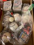 Bob Knight Picture, Baseballs, Cards