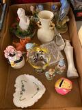 Glassware, Figurines