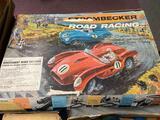 Strombecker Road Racing Slot Car Set
