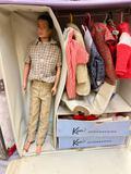 Vintage Mattel Ken Doll in Case