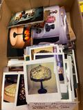 900 Photographs of Art, Pottery, Glass, Lamps
