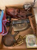 Iron, Primitives, Griswold, door knocker, etc