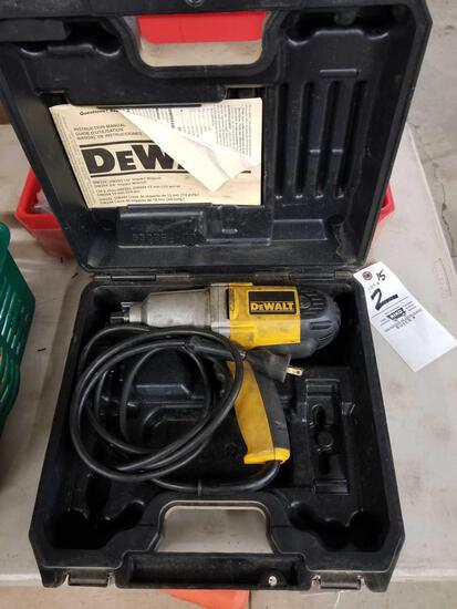 DeWalt 1/2 Impact wrench