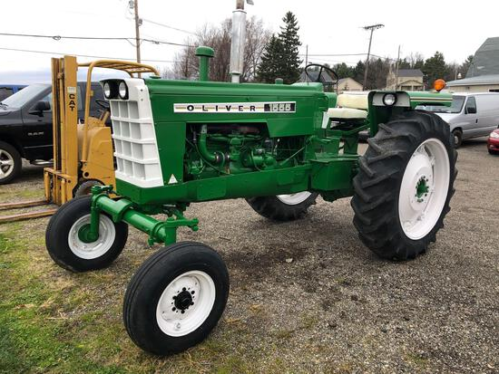 1972 Oliver 1555 tractor