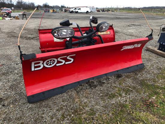 The Boss 8 1/2' snow plow