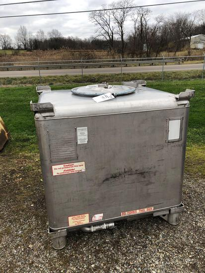 Clawson stainless tank