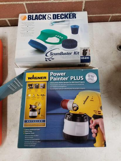 Wagner power painter and B And D scumbuster
