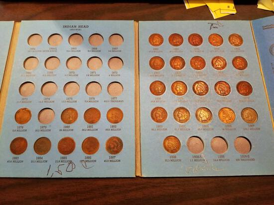 Indian head cents, bid x 30
