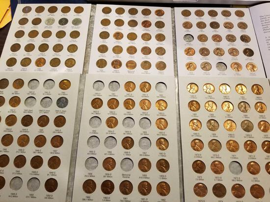 2 partial books - Lincoln cents