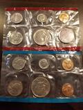 1971 proof sets, bid x 2