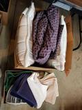 Towels, bedding