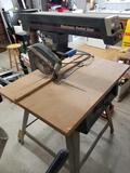 Craftsman eletronic radial saw