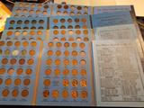 Several partial books - Lincoln cents