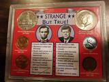 Lincoln JFK coin set
