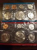 1974 proof sets, bid x 2