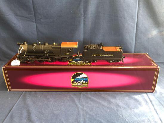 MTH Pennsylvania Scale 4-4-2 Atlantic Die Cast Steam Locomotive