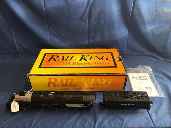Rail King 4-8-8-4 Big Boy Steam Engine