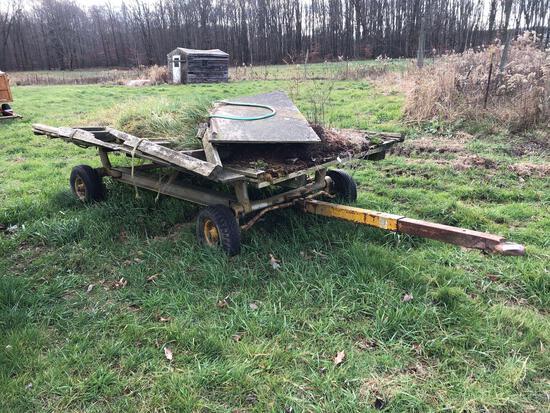 12' x 7' bale wagon