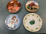 (4) Collector plates.