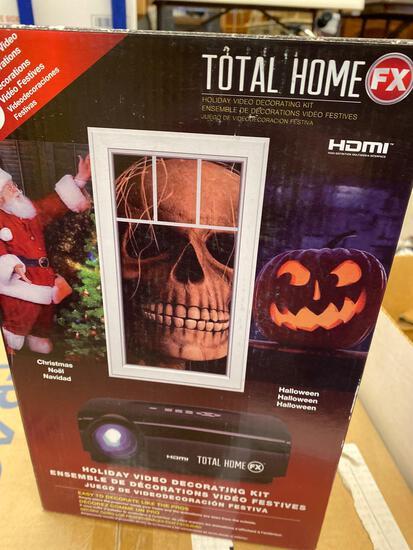 Holiday video decorating kit, Star Wars model, 2 Flinstone heads