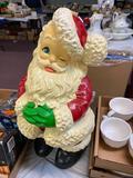 Santa Claus Chalk Statue