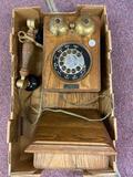 Vintage Wall Mount Phone