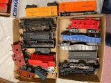 Lionel Engines and Box Cars
