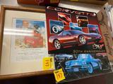 Coke Frame and Corvette Signs