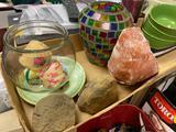 Glassware and Rocks
